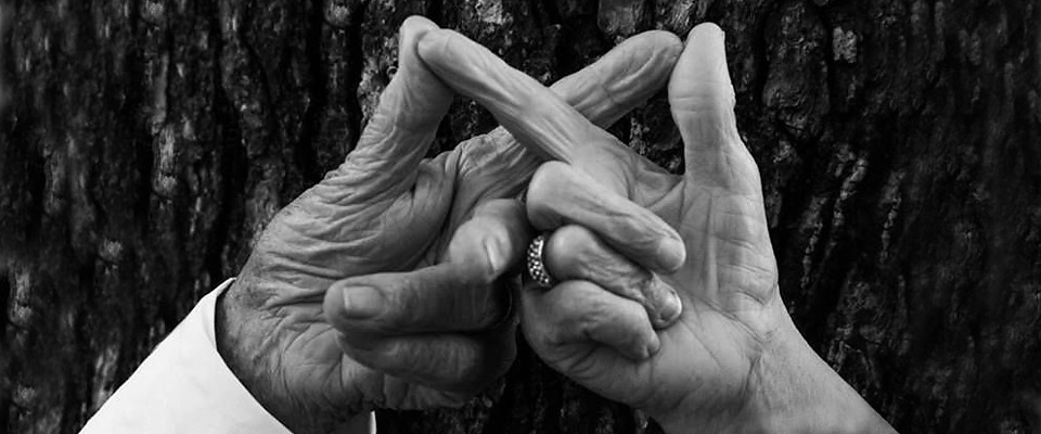 A Couple: Elderly Hands
